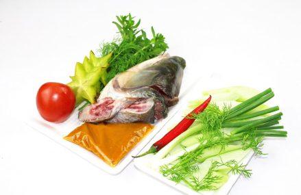 Cách làm đầu đuôi cá nấu canh Dọc Mùng