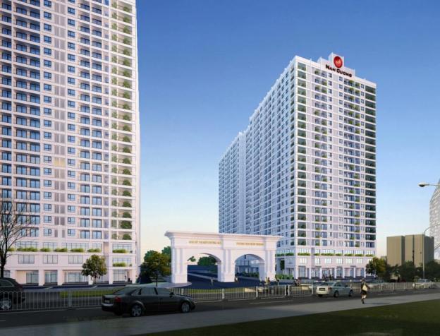 Hình ảnh: Tổng quan dự án chung cư HH01 Complex Building Nam Cường khu đô thị Dương Nội