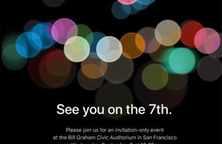 [Apple]                       Apple gửi thư mời sự kiện ra mắt iPhone 7 ngày 7/9
