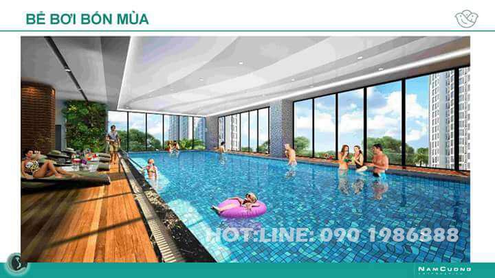 Bể bơi 4 mùa tại AnLand Nam Cường