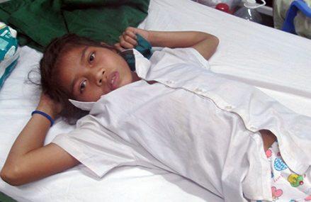 [Đà Nẵng]                                           Tìm huyết thanh cứu bé gái bị rắn cực độc cắn