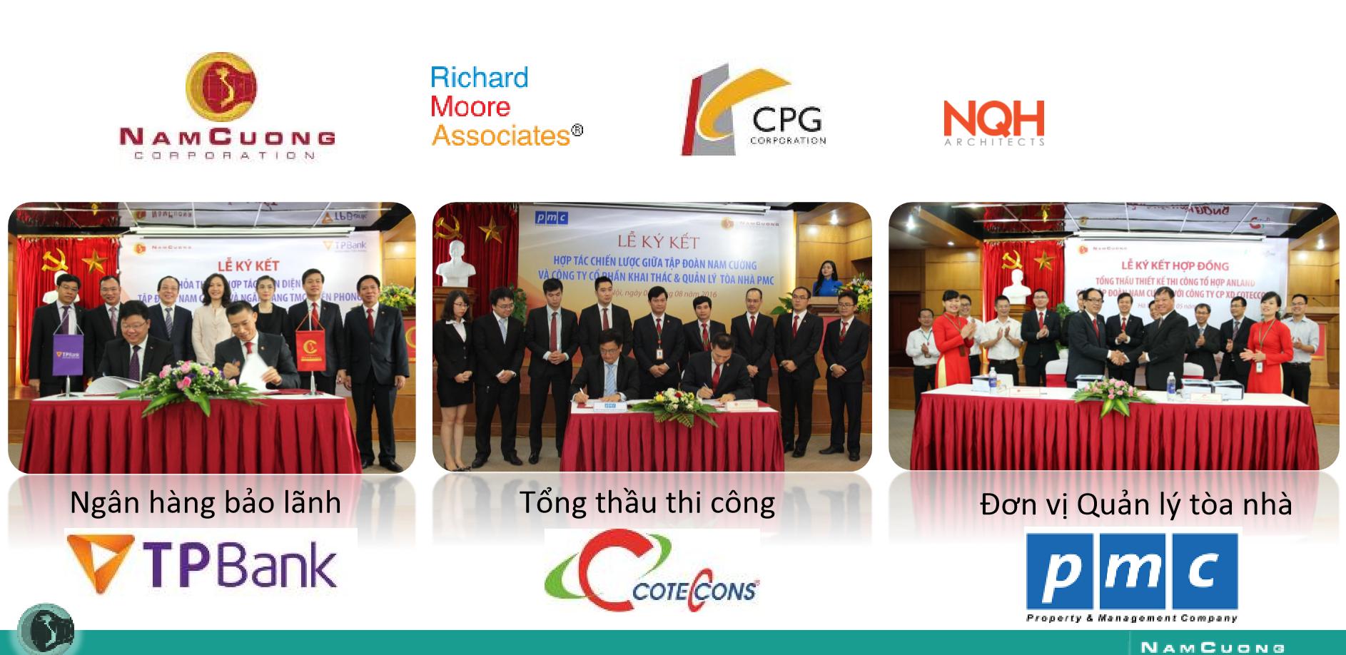 Đối tác hàng đầu thế giới hợp tác với Nam Cường tại dự án chung cư AnLand