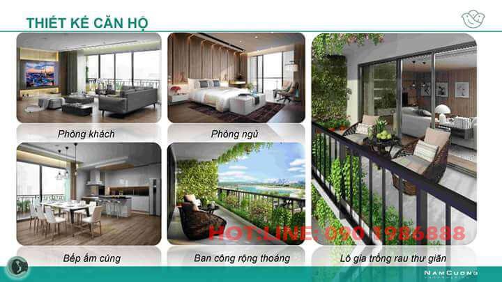 Thiết kế căn hộ tại tòa AnLand Complex Building Nam Cường