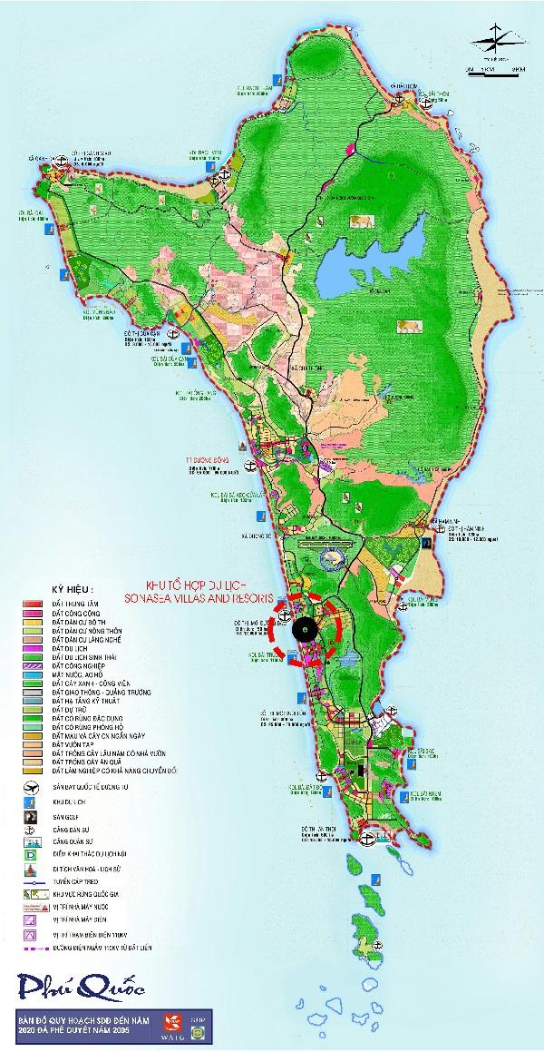 Vị trí dự án Sonasea Villas & Resort Phú Quốc
